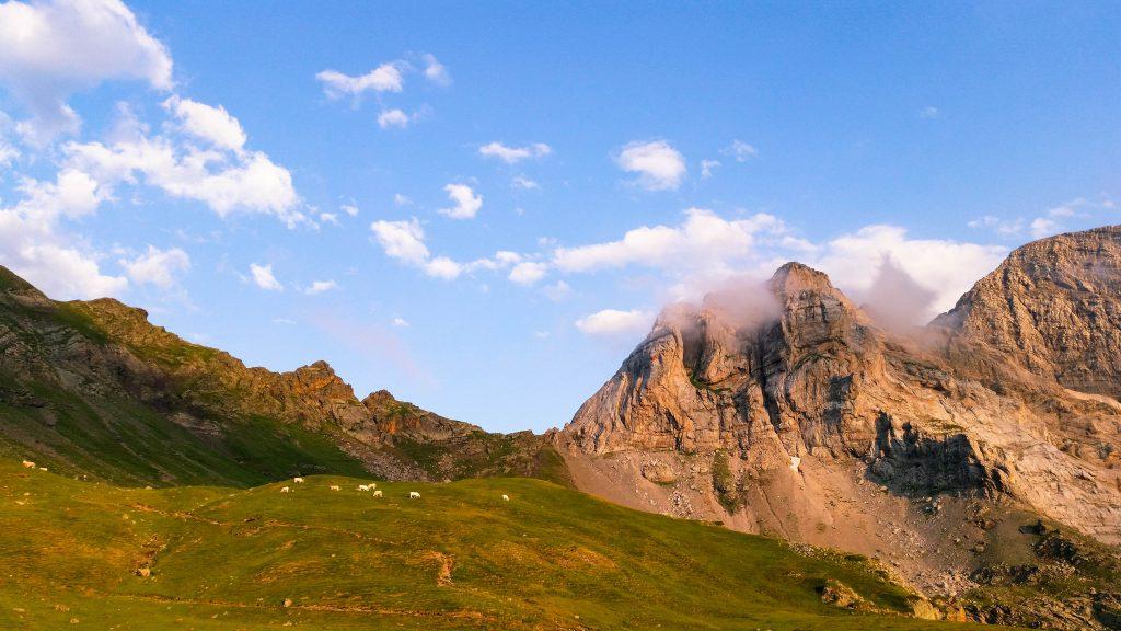 Randonnée à Gavarnie, Pyrénées.